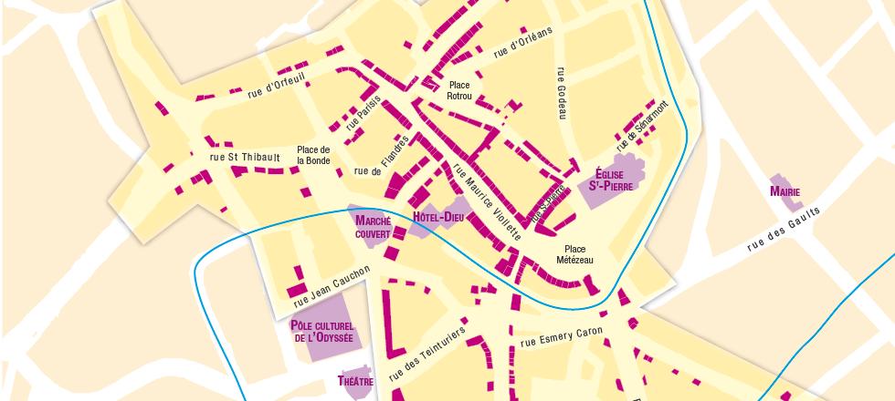 Cartographie_DREUX_Commerce