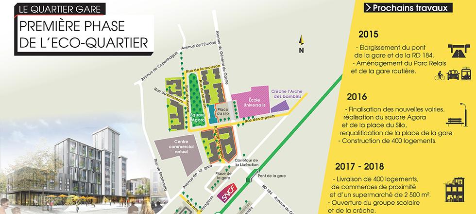 L eco quartier de louvres et puiseux en france une ville for Atelier roland castro