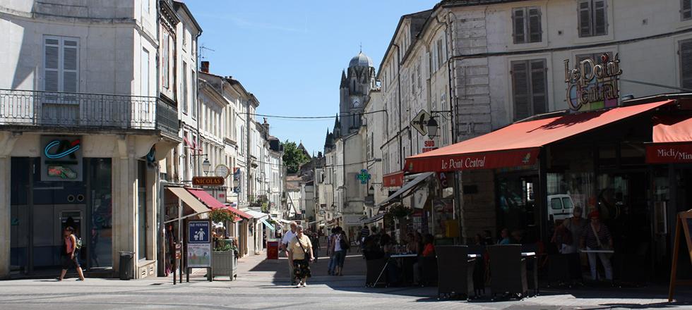 Saintes 17 plan for Jardin royal niort